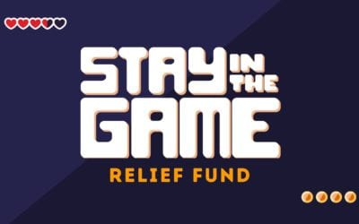 GamerSpeak Raising Funds & Awareness for Stay in the Game Relief Fund. Matching up to $500 in Donations.