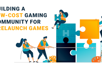 Building a Low-Cost Gaming Community for Prelaunch Game